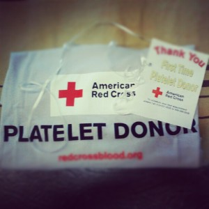A thank you gift from the Red Cross