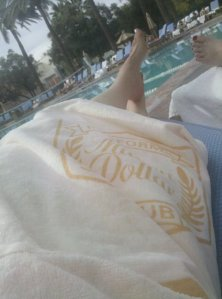 Poolside in Scottsdale