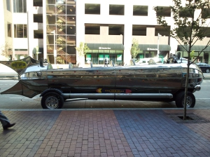 Rocket Ship Car
