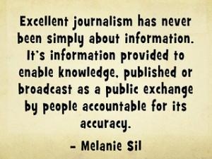 excellent journalism quote
