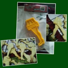 leg lamp cookies!