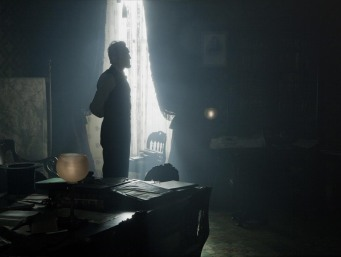 Lincoln contemplating history