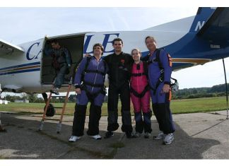 skydiving crew!
