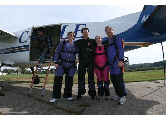 skydiving crew!