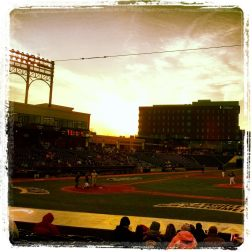 sunset at Canal Park