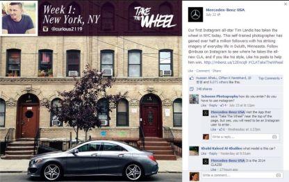 Mercedes-Benz U.S.A. Instagram Content