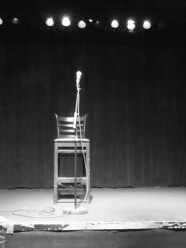 empty spotlight