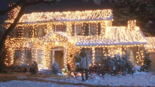 Griswold's House in Christmas Vacation
