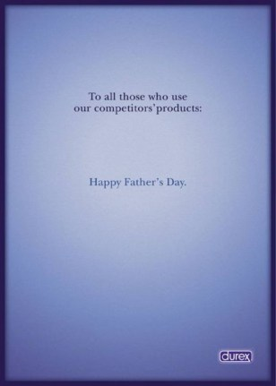 Father's Day Durex ad
