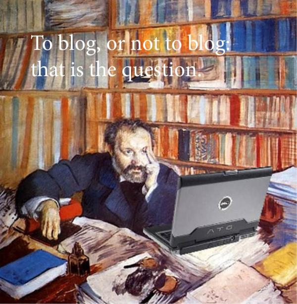 "Original photo credit: ""Portrait of Duranty Blogging, after Degas,"" Mike Licht, NotionsCapital.com"
