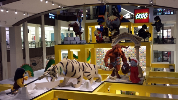 The Lego Store Display