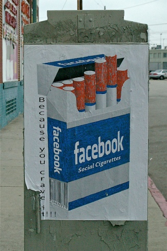 Is Facebook the new cigarette?