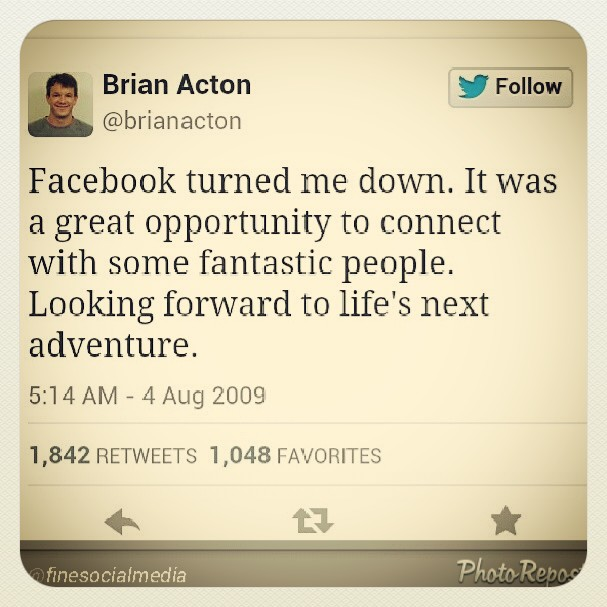 From rags to riches: Brian Acton