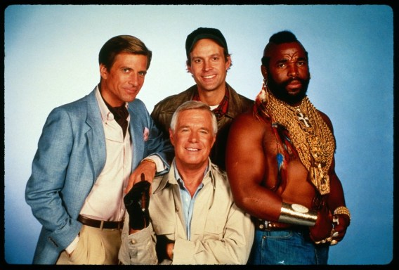 Maybe you can call The A-Team!