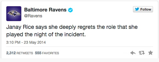 Baltimore Ravens tweet