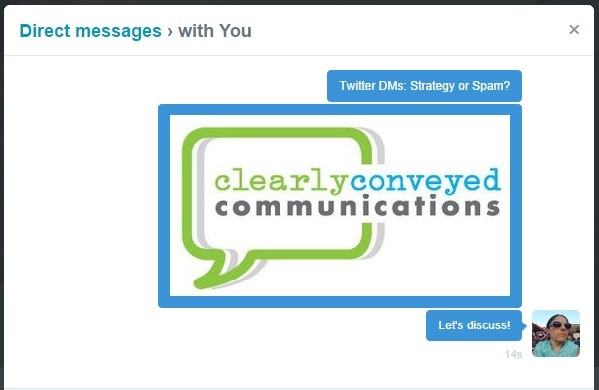 Twitter DMs: Strategy or Spam?