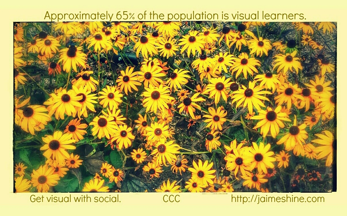 Get visual with content marketing