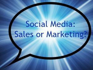 Social Media: Sales or Marketing?