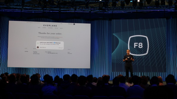 """""""David Marcus on stage at Facebook's F8 Developers Conference 2015"""" by Maurizio Pesce via CC BY 2.0"""