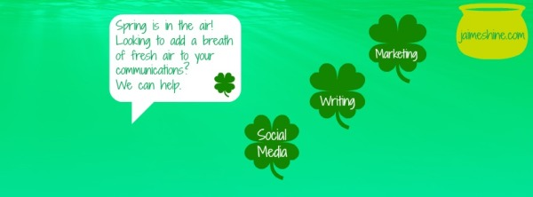 Spring is in the air! CCC can add a breath of fresh air to your communications.