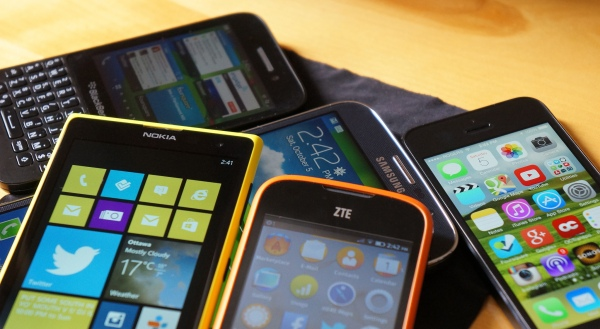 United Nations of smartphone operating systems by Jon Fingas via CC BY-ND 2.0