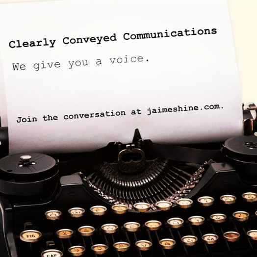 Clearly Conveyed Communications -- We give you a voice.