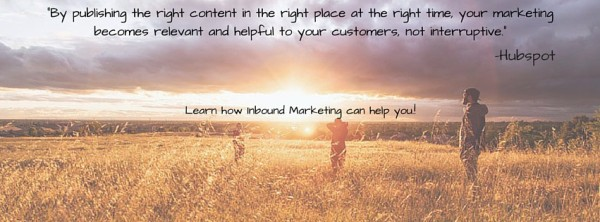 Learn how Inbound Marketing can help you!