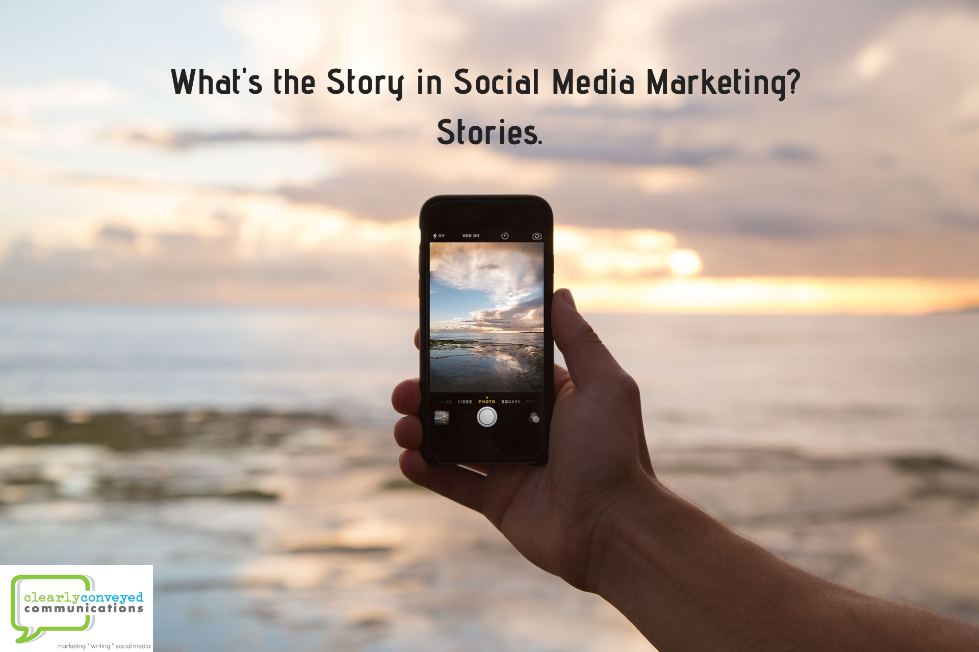 What's the story in social media marketing? Stories.