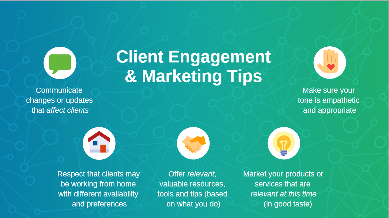 Client Engagement & MarketingTips During a Crisis