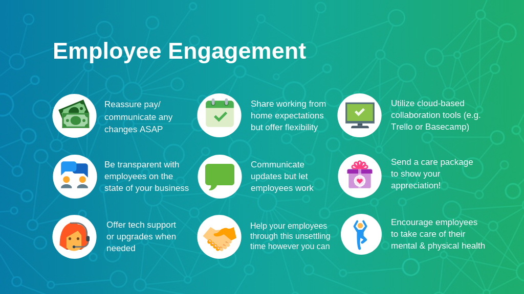 Employee Engagement Tips During a Crisis