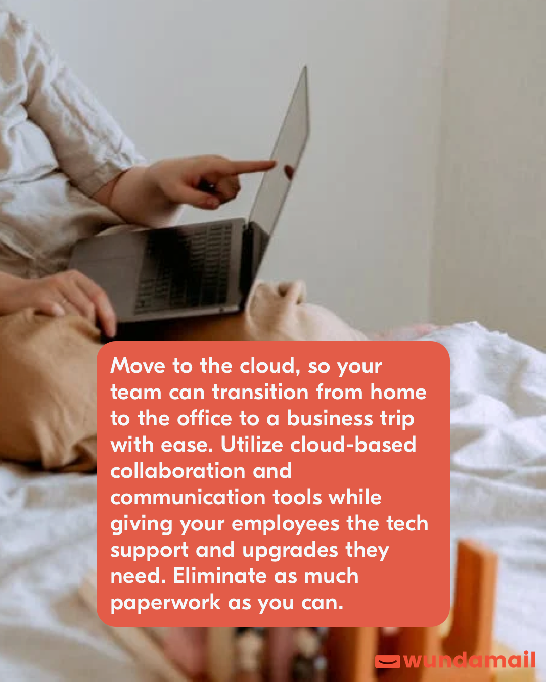 Move to the cloud, so your team can transition from home to the office to a business trip with ease.